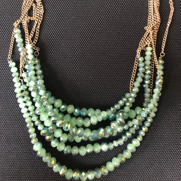 Francesca's Collections Jewelry - Turquoise Gem Necklace